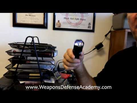 Diablo Stun Gun - Flashlight stun gun review