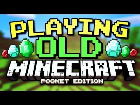 ✔️ Playing OLD Minecraft Pocket Edition! [MCPE 0.14.0]