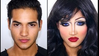 Drag Queen Make Up Tutorial