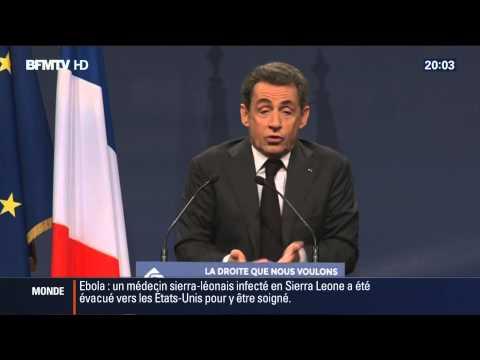 15/11/14, 20h : BFM TV, Meeting Sens Commun Mariage Pour Tous avec Sarkozy, Mariton et Lemaire