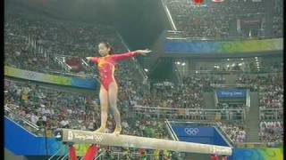 Deng Linlin Balance Beam Team final