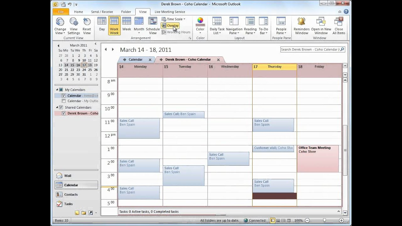 microsoft sharepoint 2010 manage employee schedules