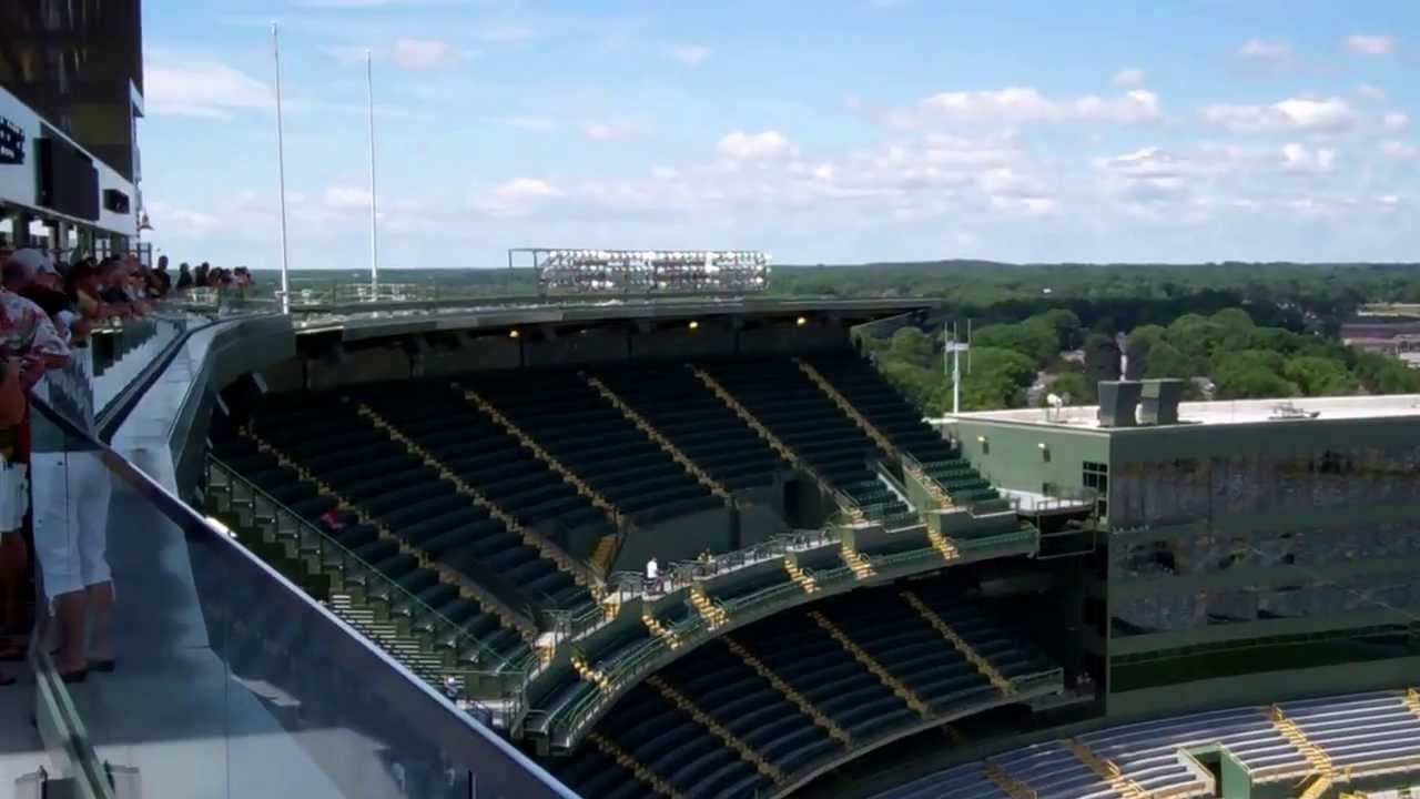 View From The New Green Bay Packers Lambeau Field South