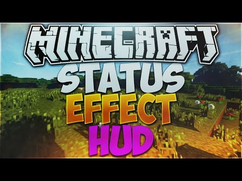 Minecraft 1.8.9: StatusEffectHUD Mod Review!