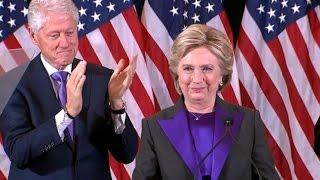 Hillary Clinton FULL Concession Speech   Election 2016