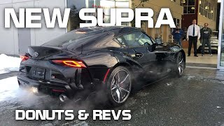 2020 Supra Delivery and BURNOUTS