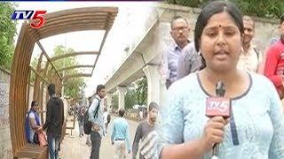 సమయానికి రాని బస్సులు.. వేచి ఉండటానికి లేని షల్టర్స్ | Special Focus On Hyderabad Bus Stands | TV5