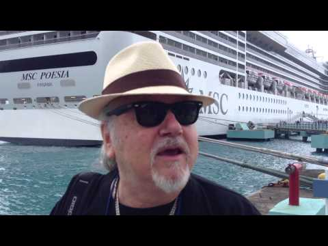 Armando Gallo in Jamaica, Cruise to the Edge.