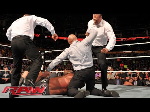 The Authority Lays Out Randy Orton: Raw, Nov. 3, 2014 video