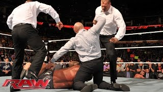 The Authority lays out Randy Orton: Raw, Nov. 3, 2014