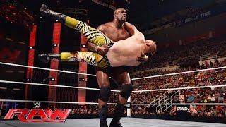 Titus O'Neil vs. Heath Slater: Raw, July 11, 2016