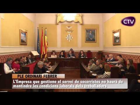 L'AJUNTAMENT NO INTERVINDRÀ EN LES CONDICIONS DEL SERVEI DE SOCORRISME
