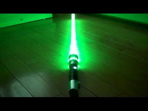 Ultrasabers Emerald Manticore with Obsidian Sound Review