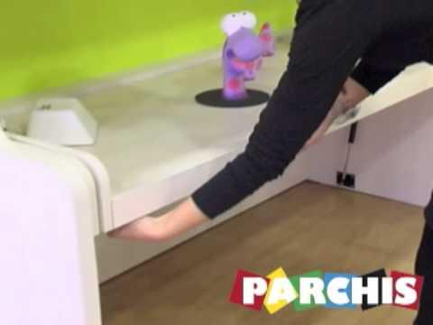 Video explicativo funcionamiento cama abatible con - Como hacer una cama abatible ...