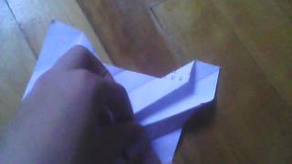 Origami Sr-71 Blackbird Tutorial Part 1