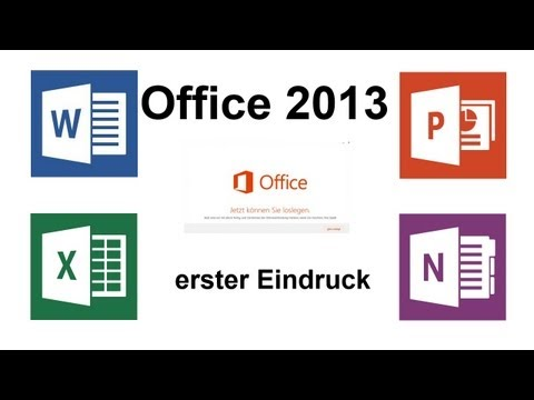 Erster Eindruck: Microsoft Office 2013 ( Home & Student )