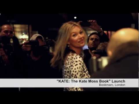 """KATE:The Kate Moss Book"" Launch at Bookmarc London"