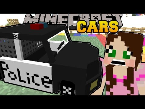 Minecraft: EMERGENCY CARS (POLICE CARS. AMBULANCES. & MORE!!) Mod Showcase