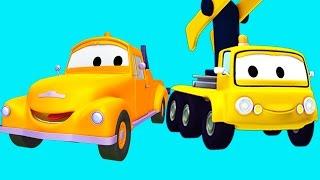 Và Tom, Cần cẩu, Xe đổ rác, Trực thăng | Phim hoạt hình chủ đề xe hơi và xe tải xây dựng 🚚