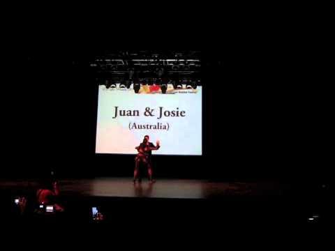 Juan Ruiz & Josie Cote - Singapore Bachata Festival