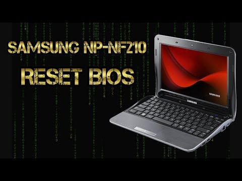 Samsung NP-NF210   Resetear el Bios