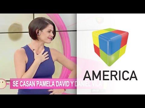 Pamela David y Daniel Vila confirmaron su casamiento Lloramos como dos nenes