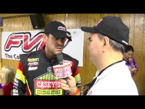 2013 Knoxville Nationals Second-Place Brian Brown Interview 8/10/13