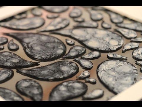 Espejos de resina para pintar
