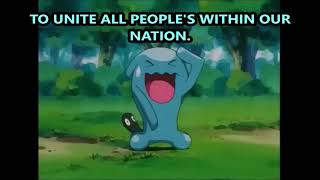 Wobbuffet Performs The Team Rocket Motto
