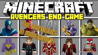 Minecraft: Avengers EndGame characters, Mod!