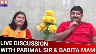 LIVE DISCUSSION WITH PARIMAL SIR & BABITA MAM