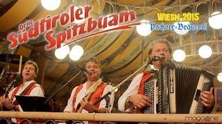 Südtiroler Spitzbuam Im Bräurosl Wiesnzelt/Oktoberfest