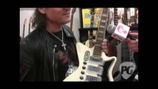 Musikmesse '10 - Scorpions Matthias Jabs Collection of Touring Guitars
