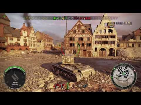KV-2 derp 8 kills World of tanks PS4