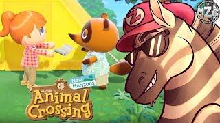 Animal Crossing New Horizons Reaction!  - Animal Crossing New Horizons Gameplay Trailer