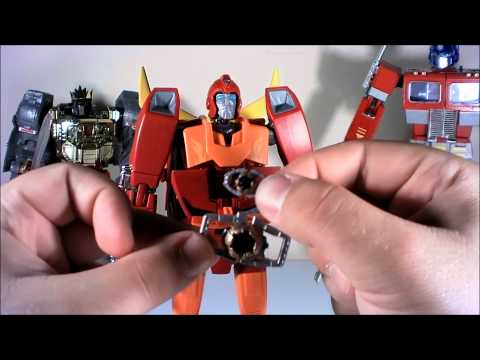 T2RX6 Reviews and Fixes: Transformers Masterpiece Rodimus Prime/Hotrod Toys R Us Exclusive