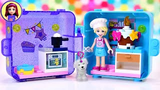 Which surprise pet will you get? Lego Friends Stephanie's Play Cube Build & Review