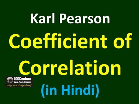 how to work out pearons correlation coeefcient