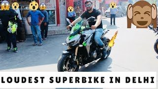 SUPER EXTREME LOUD SUPERBIKE LOUDEST IN DELHI