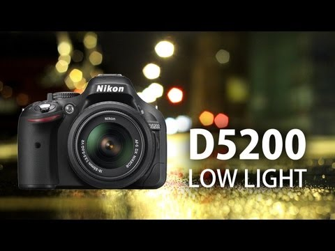 Nikon D5200: Low Light Video Test