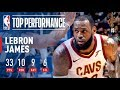 LeBron James Has Near Triple-Double (33/10/9) vs. Magic | January 6, 2018 MP3
