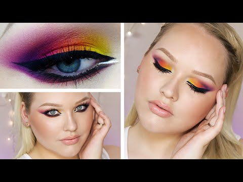 Summer Sunset Smokey Cat Eyes ∙ Makeup Tutorial
