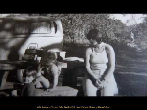 1974 Zimbabwe, Victoria Falls, Wankie Park, Avec Hubert, Photos by HabariSalam