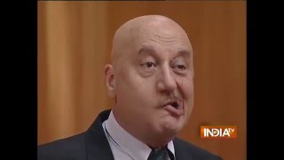 Anupam Kher on His Facial Paralysis During