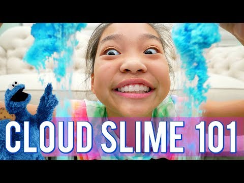How to Make Cloud Slime Step by Step Tutorial