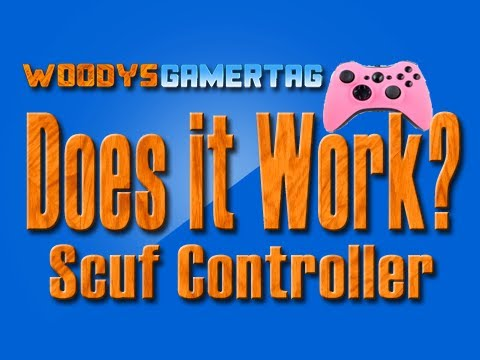 Does it Work? Scuf Controller ( review and coupon code WOODY)