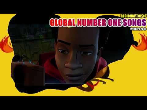 GLOBAL NUMBER ONE SONGS (week 2 / 2019) MP3