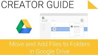 Move and Add Files to Folders in Google Drive on the Web - 4.2 - Getting Started with Google Drive