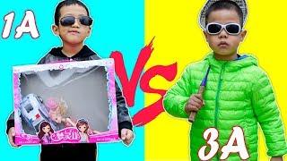 Trò chơi Lớp Học Vui Nhộn- Đại Ca Đi Học - Bé Nhím TV - Đồ Chơi Trẻ Em Thiếu Nhi