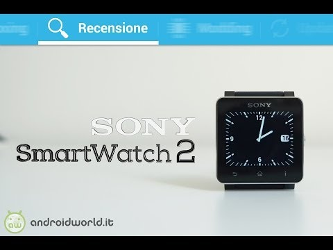 Sony SmartWatch 2. recensione in italiano by AndroidWorld.it